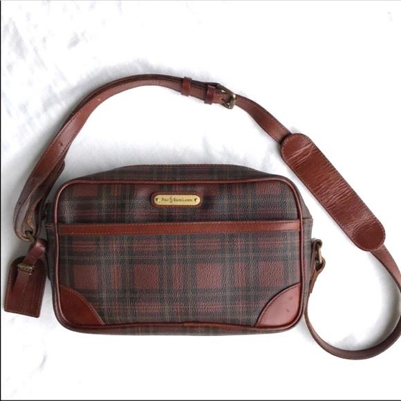 7c00065324a1 POLO Ralph Lauren 80s Vintage Shoulder Bag. M 5b421feebaebf6579d5aae82